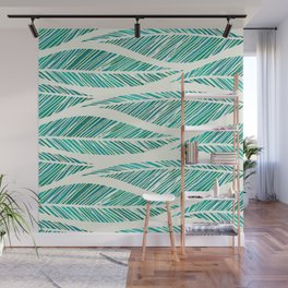 Tropical Palm Fronds Wall Mural