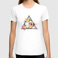 deathly hallows T-shirts featuring Life and Deathly Hallows by Snazzy Sisters