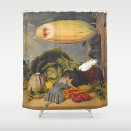 GMOs Shower Curtain