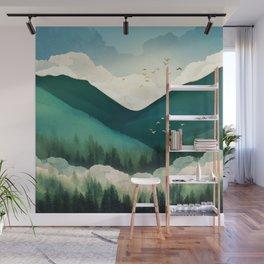 Emerald Hills Wall Mural