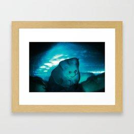 Submerged. Framed Art Print