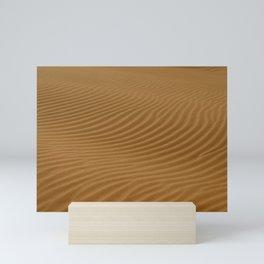 Dunes, Iran Mini Art Print