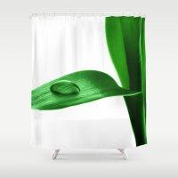 bamboo Shower Curtains featuring bamboo by Falko Follert Art-FF77