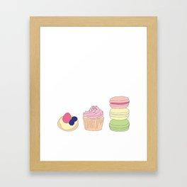 The Art of Baking Framed Art Print