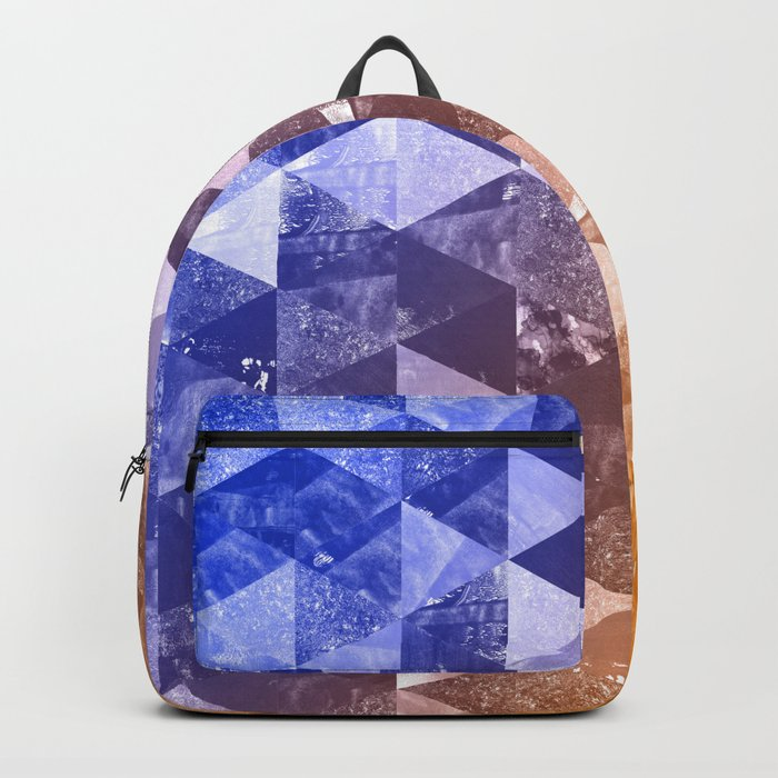 Abstract Geometric Background #2 Backpack