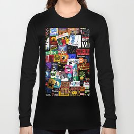 Musicals Collage Long Sleeve T-shirt
