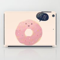 nan lawson iPad Cases featuring Eat Me by Nan Lawson