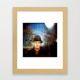 The LOVE Rock Framed Art Print