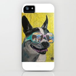 Frosty Face Friday with Gracie Gabriella at the Beach iPhone Case