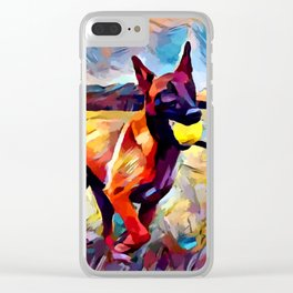 Malinois Clear iPhone Case
