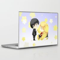 ouat Laptop & iPad Skins featuring OUAT - Buttercup Princess by Yorlenisama