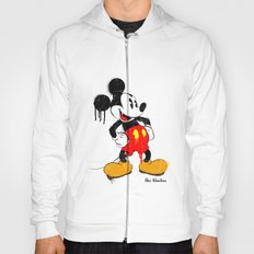 Mickey The Warrior Mouse Hoody