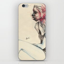 Uncanny iPhone Skin