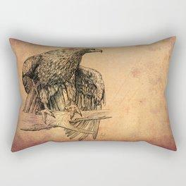 Falcon illustration Rectangular Pillow