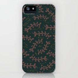 Twiggy (Dark Green) iPhone Case