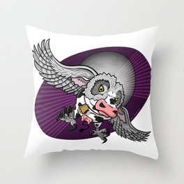 Mutant Zoo - Cowl Throw Pillow