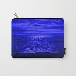 Bright Reflections Night Seascape Carry-All Pouch