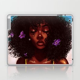 Purple X Melanin Laptop & iPad Skin