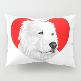 Great Pyrenees Pillow Sham