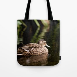Female Mallard Duck Tote Bag