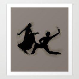 Salsa Dance Art Print