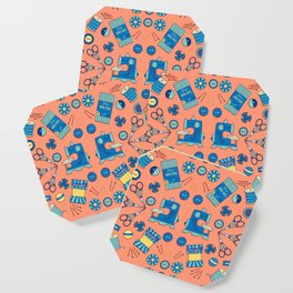 Sewing Symmetry Coaster