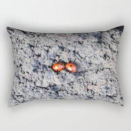 Lady and Gentleman Bug Rectangular Pillow