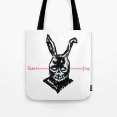 Donnie Darko: FEAR • FRANK • LOVE Tote Bag