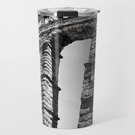 Roman Aqueduct of Segovia Travel Mug