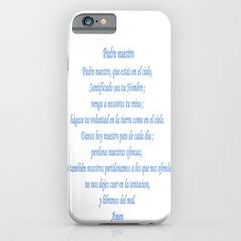 Padre nuestro iPhone Case