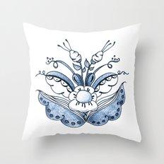 Scandi Kurbits 2 Throw Pillow