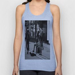 Busking on Grafton Unisex Tank Top