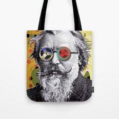 Brahms in Reel to Reel Glasses Tote Bag