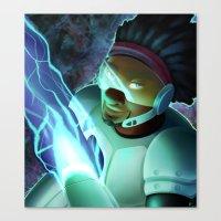 big hero 6 Canvas Prints featuring Big Hero 6- Wasabi by prpldragon