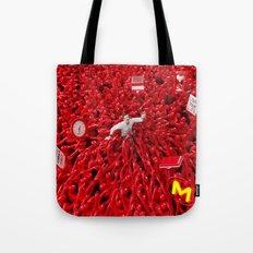 Oppression - Man Tote Bag