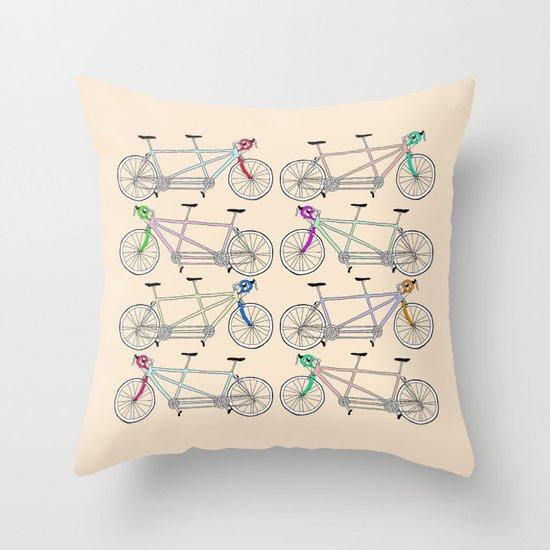 Tandem Tantrum Throw Pillow