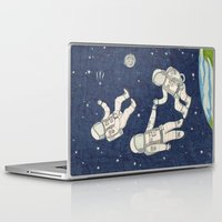 spaceman Laptop & iPad Skins featuring Spaceman by Pily Clix