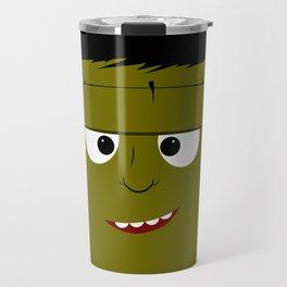 Cute Frankenstein's Monster Travel Mug
