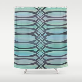 Lace It Up Shower Curtain