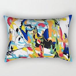 Blue Essence Rectangular Pillow