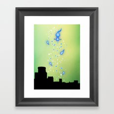 Pixar Brave Castle Print with Whisp Framed Art Print