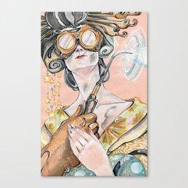 Welder Oiran Canvas Print