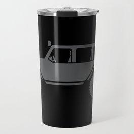 Off Road 4x4 Silhouette Travel Mug