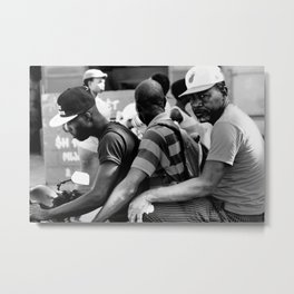 Commuters Metal Print