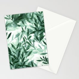 Changes Hunter Green Stationery Cards
