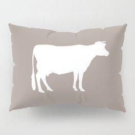 Cow: Beige Pillow Sham