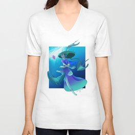 The Ocean Call Unisex V-Neck