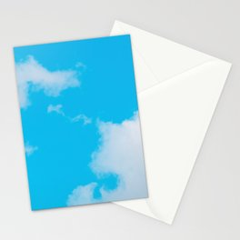 Blue Summer Sky Stationery Cards