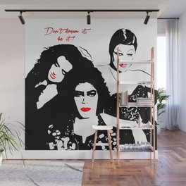 The Rocky Horror Picture Show | Don't dream it, be it! | Pop Art Wall Mural
