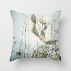 Milk Weed Throw Pillow